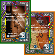 Front covers of books 1 and 2